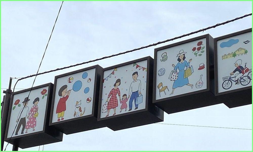 金沢市新竪町通りのレトロなゲート