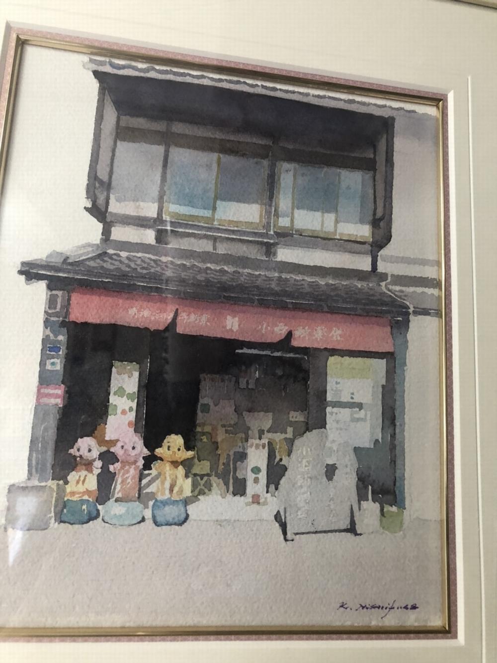 小西新薬堂の絵画